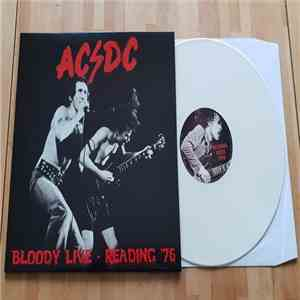 AC/DC - Bloody Live - Reading '76 album FLAC