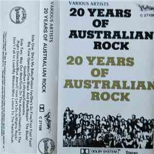 Various - 20 Years Of Australian Rock album FLAC