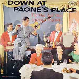 Nicola Paone - Down At Paone's Place album FLAC