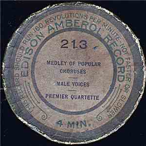 Premier Quartette - Medley Of Popular Choruses album FLAC