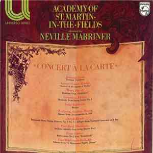 The Academy Of St. Martin-in-the-Fields - Concert A La Carte album FLAC