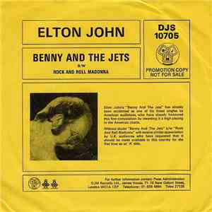 Elton John - Benny And The Jets album FLAC