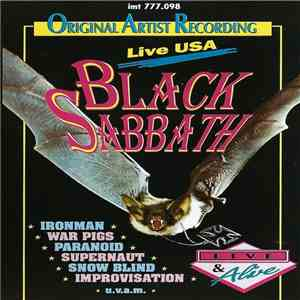Black Sabbath - Live USA album FLAC