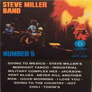 Steve Miller Band - Number 5 album FLAC