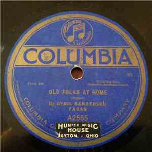 Sybil Sanderson Fagan - Old Folks At Home / Listen To The Mocking Bird album FLAC