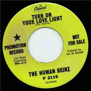 The Human Beinz - Turn On Your Love Light album FLAC