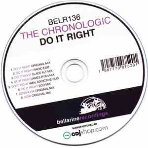 The Chronologic - Do It Right album FLAC