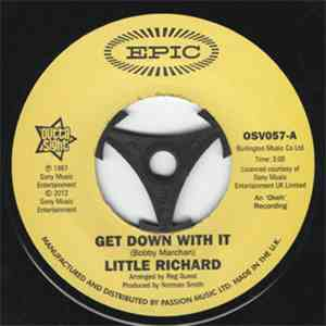 Little Richard - Get Down With It / I Don't Want To Discuss It album FLAC