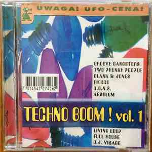 Various - Techno Boom ! Vol. 1 album FLAC