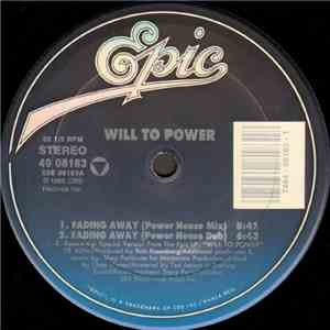 Will To Power - Fading Away album FLAC