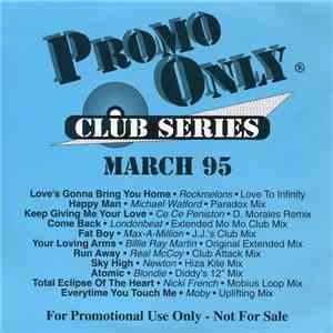 Various - Promo Only Club Series: March 95 album FLAC