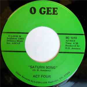 Act Four - The Hostage / Saturn Song album FLAC