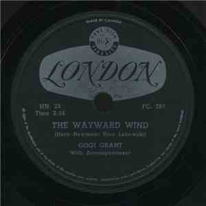 Gogi Grant - The Wayward Wind / No More Than Forever album FLAC