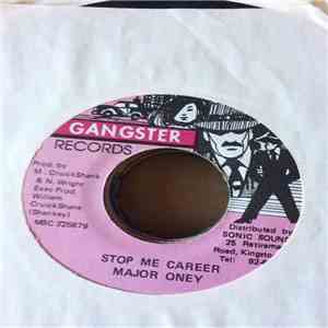 Major Oney / Rhythm Shankey & Gangster  - Stop Me Career / Version New & Improve Duck album FLAC