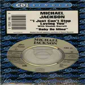 Michael Jackson - I Just Can't Stop Loving You album FLAC