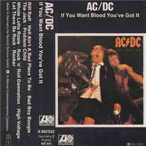 AC/DC - If You Want Blood You've Got It album FLAC