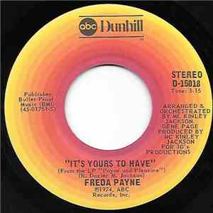 Freda Payne - It's Yours To Have / Run For Your Life album FLAC