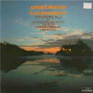 "André Previn Conducts Rachmaninoff, London Symphony Orchestra - Symphony No. 3 And Fantasy For Orchestra ""The Rock"" album FLAC"