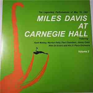 Miles Davis - Miles Davis At Carnegie Hall Volume 2 album FLAC