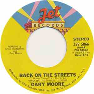Gary Moore - Back On The Streets album FLAC