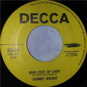 Johnny Wright  - High Cost Of Livin' album FLAC